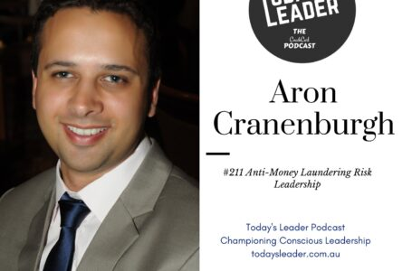 #211 Aron Cranenburgh – Anti-Money Laundering Risk Leadership